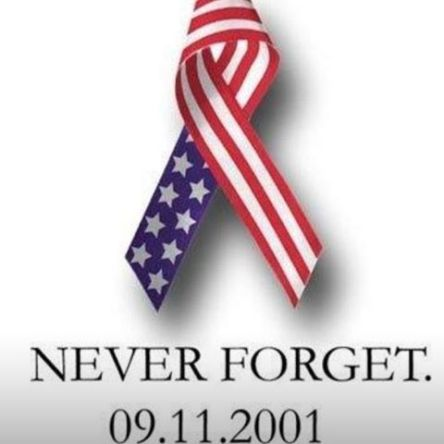 NEVER FORGET. 09.11.2001